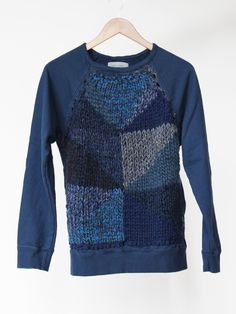 """""""Hey, I can do that."""" """"Yeah, but you didn't."""" Cotton and wool sweater by Correll Correll. Now $273.00."""