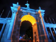 Canadian National Exhibition (CNE) gateway.