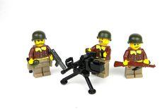 Lego Soldiers, Lego Ww2, Lego Military, Cool Lego, Figs, Us Army, Preston, Apocalypse, Wwii