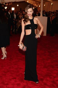 Met Gala 2013 Red Carpet: Miranda Kerr Egads, gorgeouness galore!