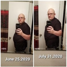 "My friend, Joe, in Texas is rocking his weight loss challenge 🎉🎊👏👏👏  ""This is a 1st for me...so here goes...I have never posted a picture of myself in a ""before and after"" but with the results I am getting, it was time to come out of my ""comfort zone""  As of tonight, I am down 16lbs 9oz...3"" off my waist. Left is June 25..Right is tonight July 31.  I have been using a combination of Vitalitea and Slimmer products.  Vitalitea is an awesome all natural tea that's great for giving me more… Weight Loss Help, Weight Loss Challenge, Lose Weight, July 31, June, Green Organics, Essential Fatty Acids, Comfort Zone, Plant Based"