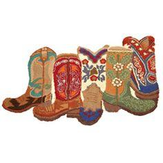 Cowboy Boot Rug