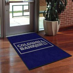 Coldwell Banker Real Estate Logo Rug