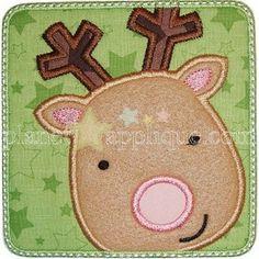 Reindeer Patch Applique