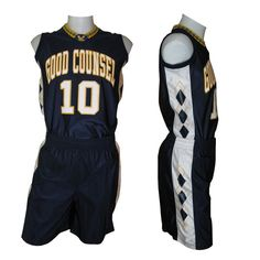 We offer customized basketball uniforms for all genders.