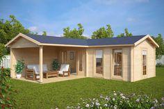 Neue Gartenhäuser und Holzhäuser der Saison 2017