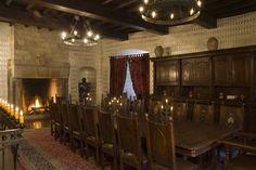 Main Dining Room on Second Level | Medieval Castle de Montbrun, Dournazac, Haute-Vienne, France