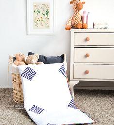 Little Cabin Floor Quilt