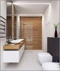 The other small bathroom design ideas are fresh and revolutionary, rethinking what we expect a bathroom design should look like. design badezimmer 10 Small Bathroom Ideas for Minimalist Houses Small Bathroom Remodel Cost, Small Bathroom Tiles, Modern Bathroom Design, Bathroom Interior Design, Bathroom Renovations, Bathroom Goals, Interior Ideas, Bathroom Mirrors, Bathroom Makeovers