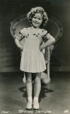 Remembering Shirley Temple....