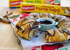 Elmalı Milföy Çörek   Lezzetibol