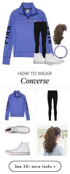 """""""I Love This Outfit!"""" by flowers8989 on Polyvore featuring Victoria's Secret PINK, Joseph and Converse"""