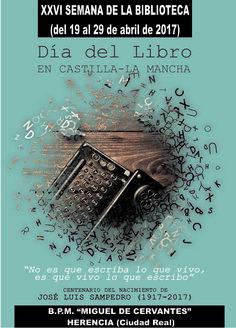 Semana de la Biblioteca 2017. Del 19 al 29 de abril