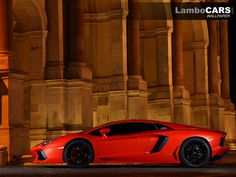 Full side view of the Lamborghini Aventador LP700-4 ... one of the most beautiful profiles in the world today