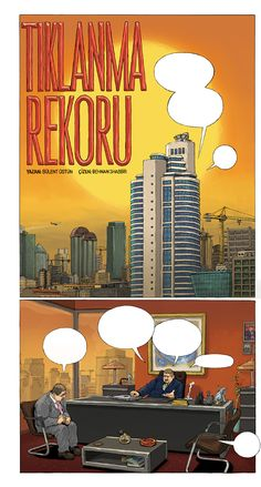 """Tiklanma Rekoru""  / ""Most Viewed"" by Behnan Shabbir, via Behance"