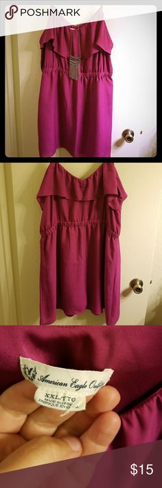 American Eagle Dress Pink dress XXL from American Eagle American Eagle Outfitters Dresses Mini