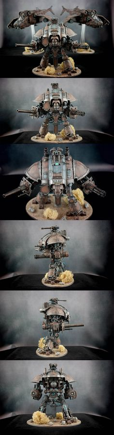 Astra Militarum - Imperial Knight Crusader || Regiment: Lions of Leander VI ||  Warhammer 40k