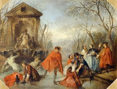 Lancret, Nicolas (Paris 1690-1743)  winter