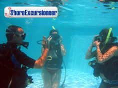 Beginner SCUBA Diving Adventure!   In just a few short hours, you will Discover SCUBA Diving on this beginner's course.  Reef dive from boat too!  http://www.shoreexcursioneer.com/roatan/beginner-discover-scuba-diving.html