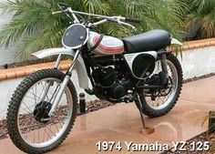 YAMAHA YZ  125cc. 1974