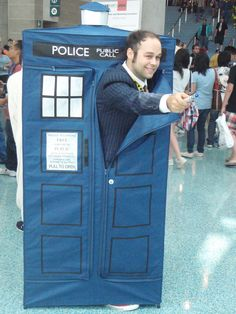 Doctor Who and Tardis Cosplayer by stormx6.deviantart.com #cosplay