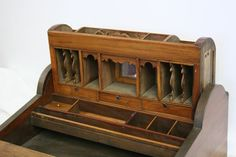 19th Century Roll Top Lap Desk
