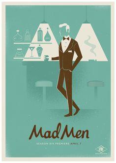 Mad Men Season 6 by Radio , via Behance