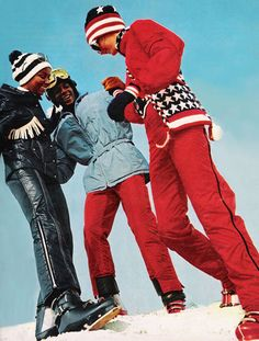 Image result for 1970s child ski clothing