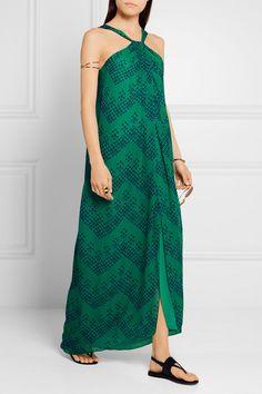 Diane von Furstenberg | Lilita printed silk-chiffon maxi dress | NET-A-PORTER.COM