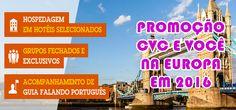 Pacotes CVC para a Europa em 2016 #europa #viagens #cvc