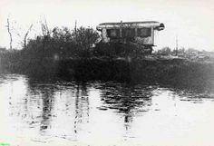 0210515_001 Coll. chr. Warnar 1960: Woonwagenkamp in de Astense Peel dicht bij Meijel. De laatste woonwagen.