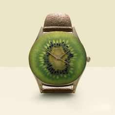 wristwatch kiwi by Fulvio Bonavia watch winders Food Design, Creative Words, Creative Design, Creative Ideas, Weird Food, Food Humor, Funny Food, Edible Art, Food For Thought