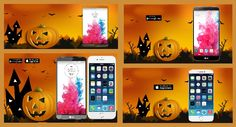 When black cats prowl and pumpkins gleam, May luck be yours on Halloween! Enjoy this Halloween pumpkin graphics templates pack. The pack includes: Google Play screenshots, social covers, Twitter app promotion cards and Facebook install ads. #MobileAppMarketing #MobileAppDevelopers