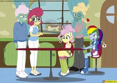 MLP - Equestria girls - Flutter Brutter by CoNiKiBlaSu-fan