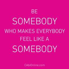 {somebody}