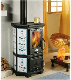 sideros-stubella-cerasarda  Wow way nicer than any other smaller wood stoves I've seen.