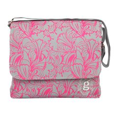 This canvas messenger bag in hot pink will hold all your festival essentials and make you stand out in the crowd.