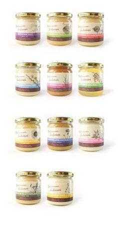 Etiketten-Design-Honig