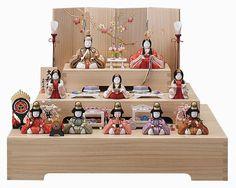 ひな人形 十人飾 (大和雛15-2号), #Hinamatsuri, #Japon