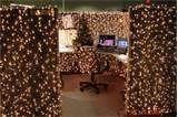 Christmas cubicle needs more lights. Christmas Cubicle Decorations, Christmas Lights, Holiday Decor, Office Decorations, Cubicle Accessories, Office Cubicle, Home Safety, Kabine, Winter