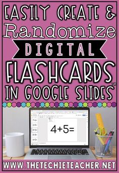 Easily Create and Randomize Digital Flashcards in Google Slides™ using the Slides Randomizer Add-On. Great for math fact practice, sight words practice, vocabulary practice, sequencing, recall of facts, and more! Math Fact Practice, Vocabulary Practice, Sight Word Practice, Google Classroom, Sight Words, Teaching Technology, Educational Technology, Instructional Technology, Technology Integration