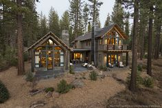 A girl can dream! Nestled in the mountains near Lake Tahoe, the HGTV® Dream Home 2014 is the peak of rustic chic.