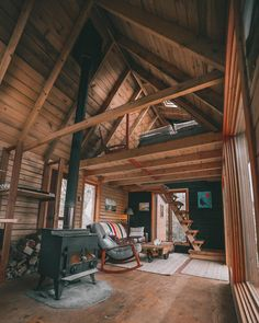 It's a Man's World - Hüttenzauber - A Frame Cabin, A Frame House, Cabin Homes, Log Homes, Tiny Homes, Ontario Cottages, Tiny House Movement, Cabins And Cottages, Mini Cabins