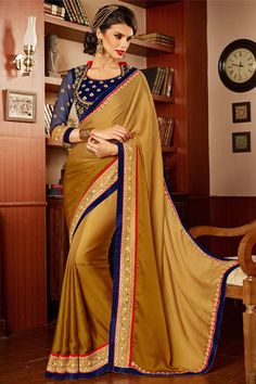 Designer Party Wear Saree With Blouse