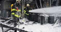 Požár Ve Výkupu Nebezpečných Surovin   Bezpečnost Práce, Požární Ochrana, Revize Elektro, Chemické Látky, Odpady