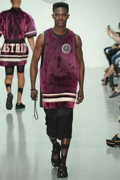 Astrid Andersen   Spring 2015 Menswear Collection   Style.com // what do Cadets learn to do during phys ed?
