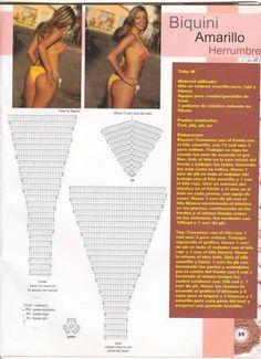 Bikinis ganchillo patrones - Imagui