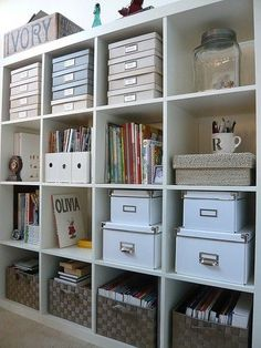 Have a craft room (or closet) that needs organizing? Yes, I do. Even though I had a new work/storage table built last July, I'm still n...