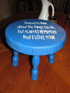 Timeout stool