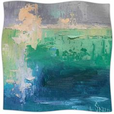 Sea Music Fleece Throw Blanket